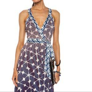 Diane Von Furstenberg Samson Maxi Dress Size 6